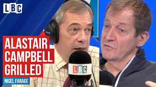 Nigel Farage interviews Alastair Campbell