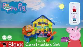 Stavebnica Peppa Pig v škole s násobilkou PlayBIG