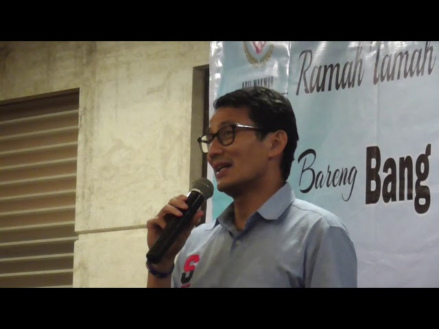 Prabowo-Sandi Fokus Membesarkan Usaha Milik Anak Bangsa