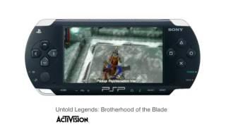 Untold Legends: Brotherhood of the Blade trailer (PSP)
