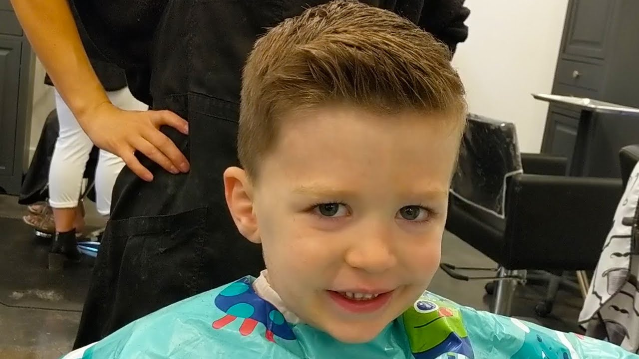 How to Spike Up Little Boys Hair (with Cowlicks) Using Architexture - Easy!