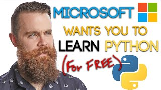Microsoft wants you to LEARN PYTHON (for FREE) -- Intro to Python