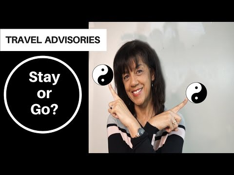 Travel Advisories - What Do They Mean?