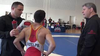 2018 Brock Open FS57kg Sam Jagas (Brock) vs Oren Furmanov (Guelph)