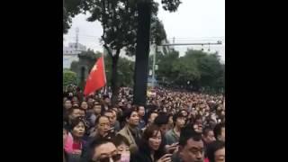 陕西省、西安市、高陵区人民抗议建垃圾焚烧厂