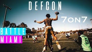 DAY 2 WAS A MOVIE🔥🔥 | Defcon 1 7on7 football | battle Miami