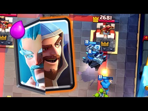 Clash Royale - WIZARD BROTHERS! New Combo Deck