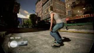 PS3【SKATE2】 プレイ動画 ~自由で広大なマップ~ 【HD】