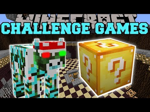 Minecraft: XMAS COW CHALLENGE GAMES  Lucky Block Mod  Modded MiniGame
