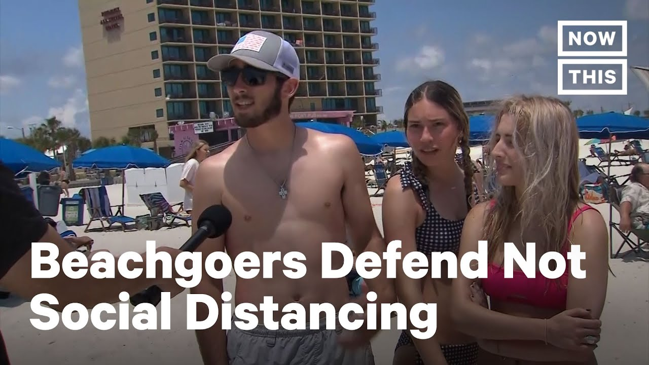 Why Alabama Beachgoers Aren't Worried About COVID-19 | NowThis