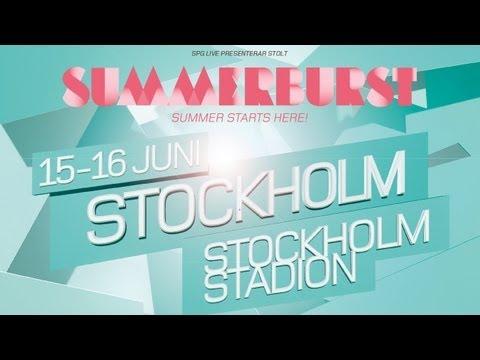 Summerburst Festival 2012 - Stockholm - 15&16 juni!