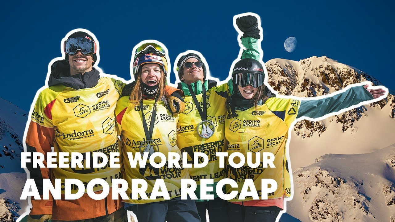 Freeride World Tour Full Highlights from Andorra