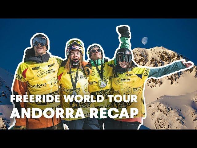 Freeride World Tour Full Highlights from Andorra