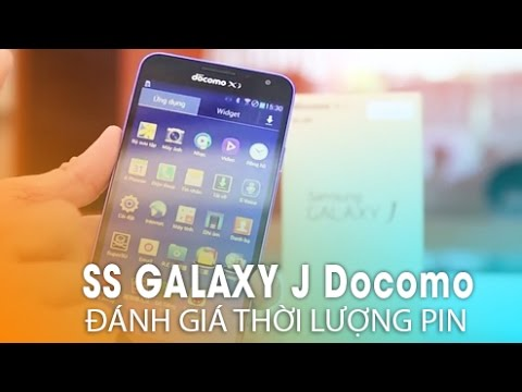 SAMSUNG GALAXY J DOCOMO (SC-02F): Đánh Giá Pin - Khó tin hơn cả 2600mah!