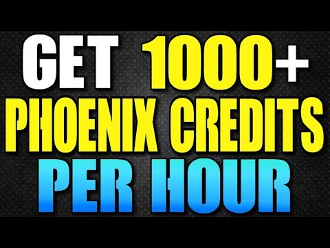 THE DIVISION - FASTEST WAY TO GET PHOENIX CREDITS! GET 1000+ PHOENIX CREDITS PER HOUR