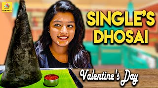 Single's Dhosai : Valentine Day Special Charcoal Dosa