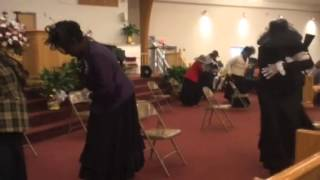 "Shekinah Glory Dancers - Mahalia Jackson ""How I got Over"""