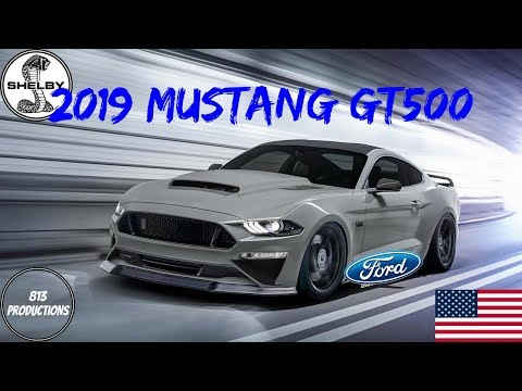 2019 Ford Mustang Shelby GT500 Specs