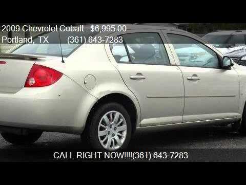 2009 Chevrolet Cobalt LT w/1LT for sale in Portland, TX 7837