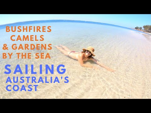 BUSHFIRES, CAMELS AND GARDENS BY THE SEA