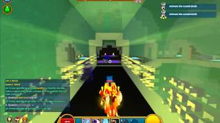Trove - Lunar Lancer solo Shadow tower/Vengeful pinata god (with crit build)