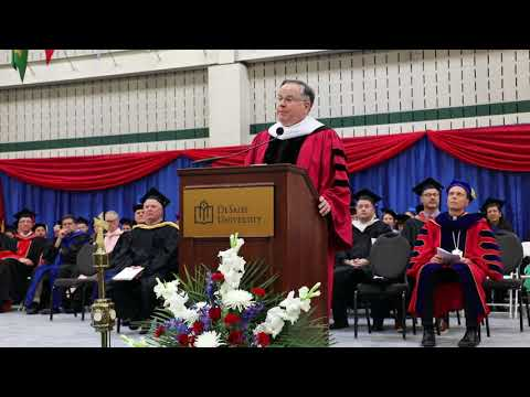 Graduation 2018 Speech from Fr. George S. Salzmann OSFS