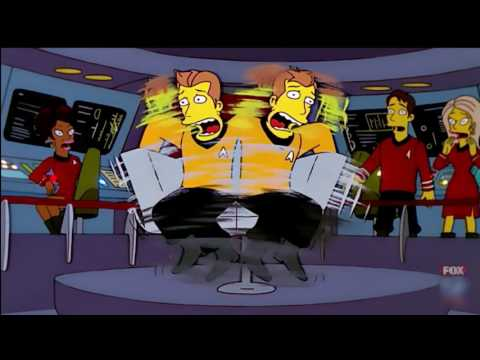 The Simpsons - Comic Book Guy's Star Trek Hallucination (Season 12 Ep. 19)