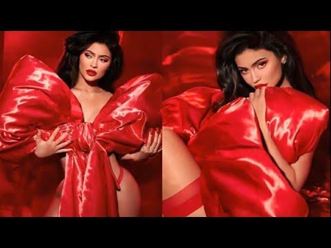 Kylie Jenner, İç Çamaşırsız Pozlarıyla Sosyal Medyayı Salladı!