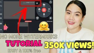HOW TO REMOVE WATERMARK in KINEMASTER | TUTORIAL for ANDROID Phones | MariaFhey