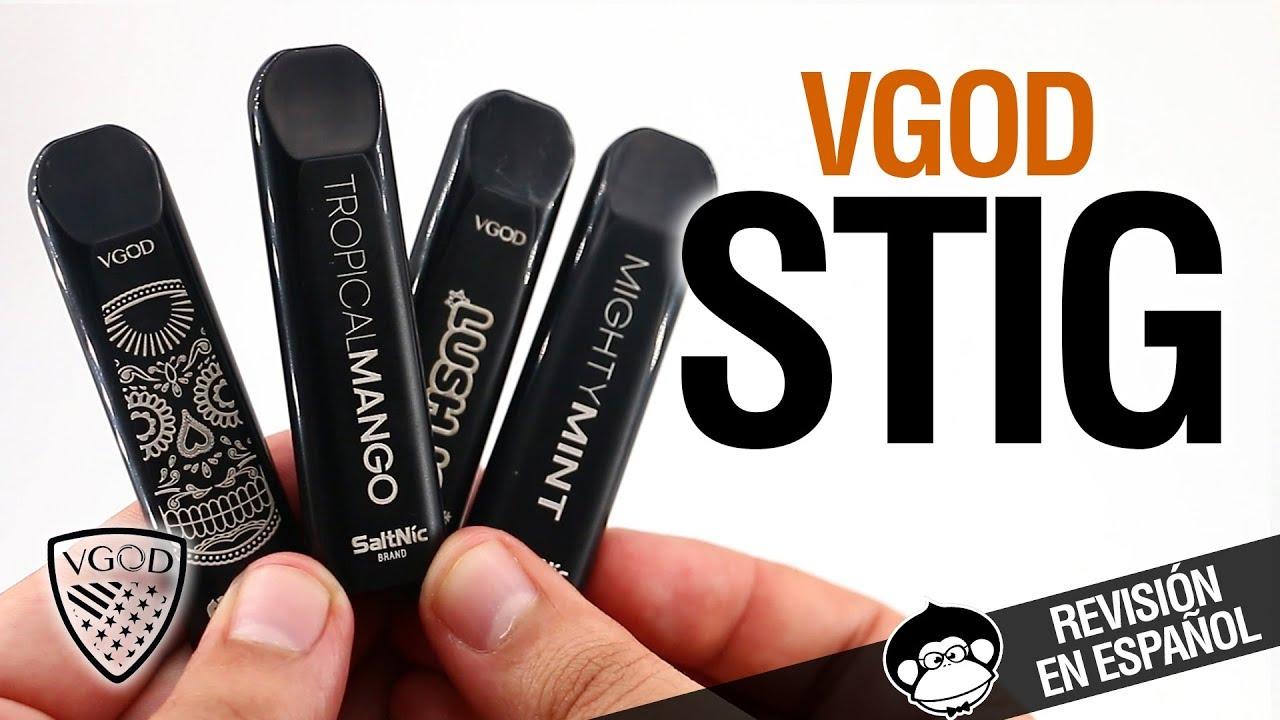 VGod STIG / POD ¡¡DESECHABLE!! / revisión