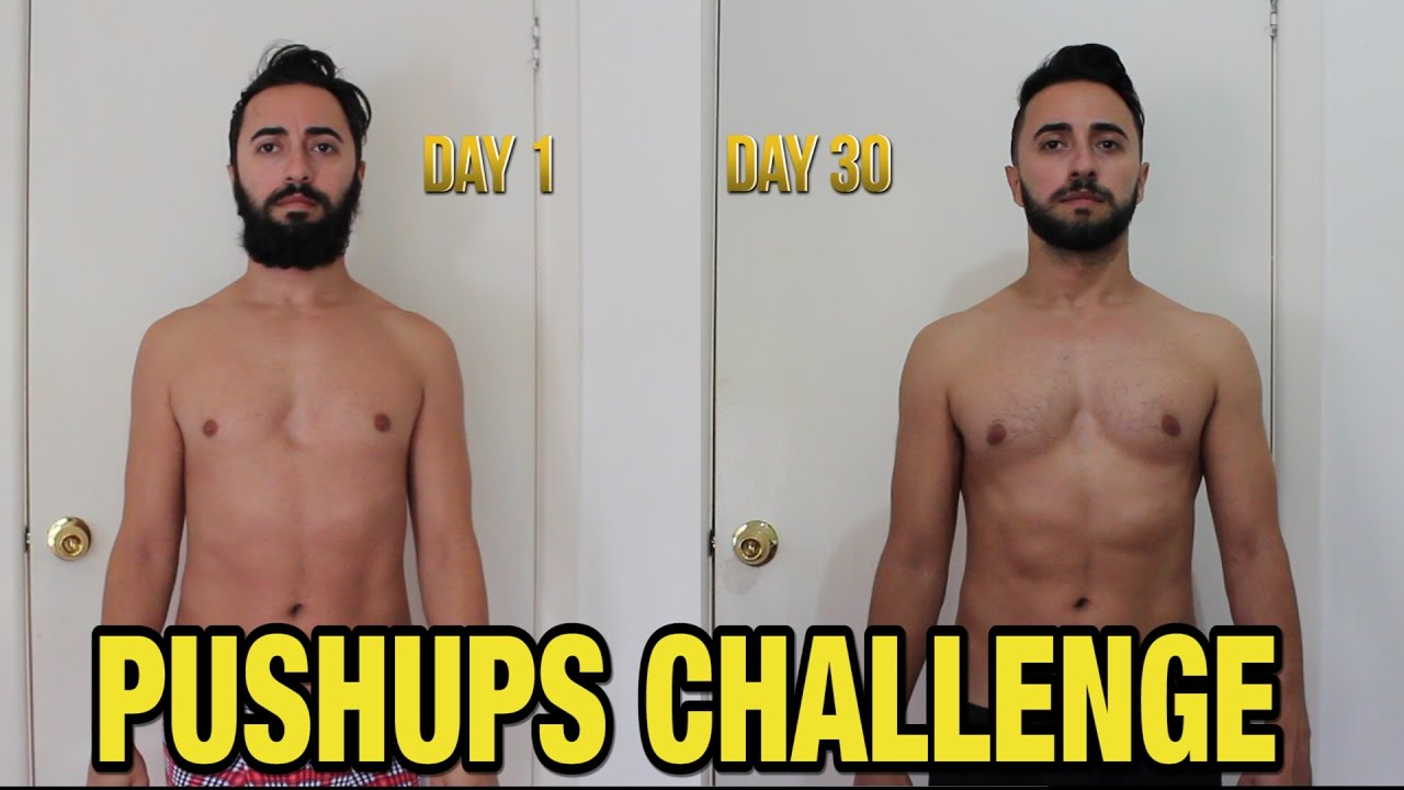 Push Up Results