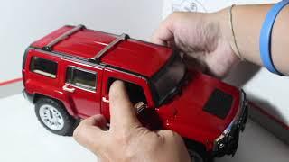 Minicars Brasil TV - Hummer H3 - Hot Wheels - 1/18 - Review