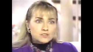 Hillary Clinton Jan. 30 1992  Primetime live Bill Clinton and  Gennifer Flowers  infidelity