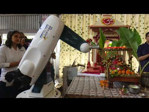Robotic Ganesh Aarti Done By TAL BRABO