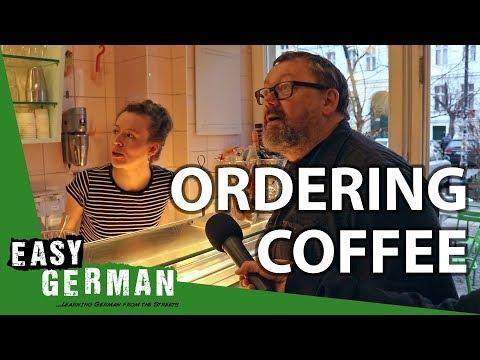 Tiếng Đức bài 27: Order cà phê