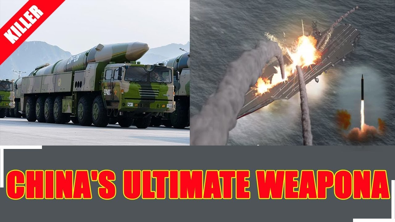 The DF-26 Missile: China's Ultimate Weapon (It Can Kill an Aircraft Carrier or Nuke a City) - YouTube