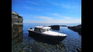 Рыбалка в Баренцевом море с ночевкой на катере Ура губа Часть 2