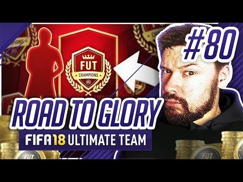 AMAZING FUT CHAMPS REWARDS! - #FIFA18 Road to Glory! #80 Ultimate Team
