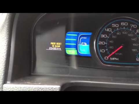 how to reset ford fusion 2012 oil change light youtube. Black Bedroom Furniture Sets. Home Design Ideas