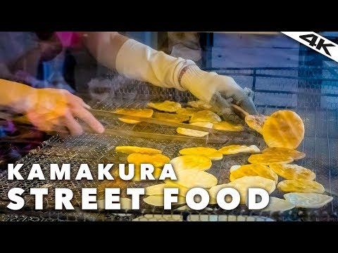 Japanese STREET FOOD Tour in Kamakura | Kanagawa Prefecture [4K]