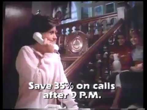 COURTENEY COX EN UN ANUNCIO DE 1984-NEW YORK TELEPHONE COMPANY COMMERCIAL