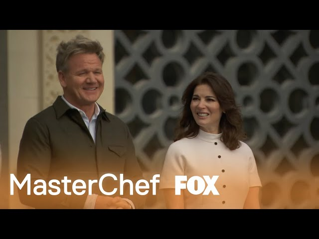 Gordon Introduces Nigella Lawson | Season 10 Ep. 23 | MASTERCHEF