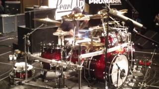 "Jason Bittner PASIC 2013 Pt. 2 SHADOWS FALL ""The Unknown"""