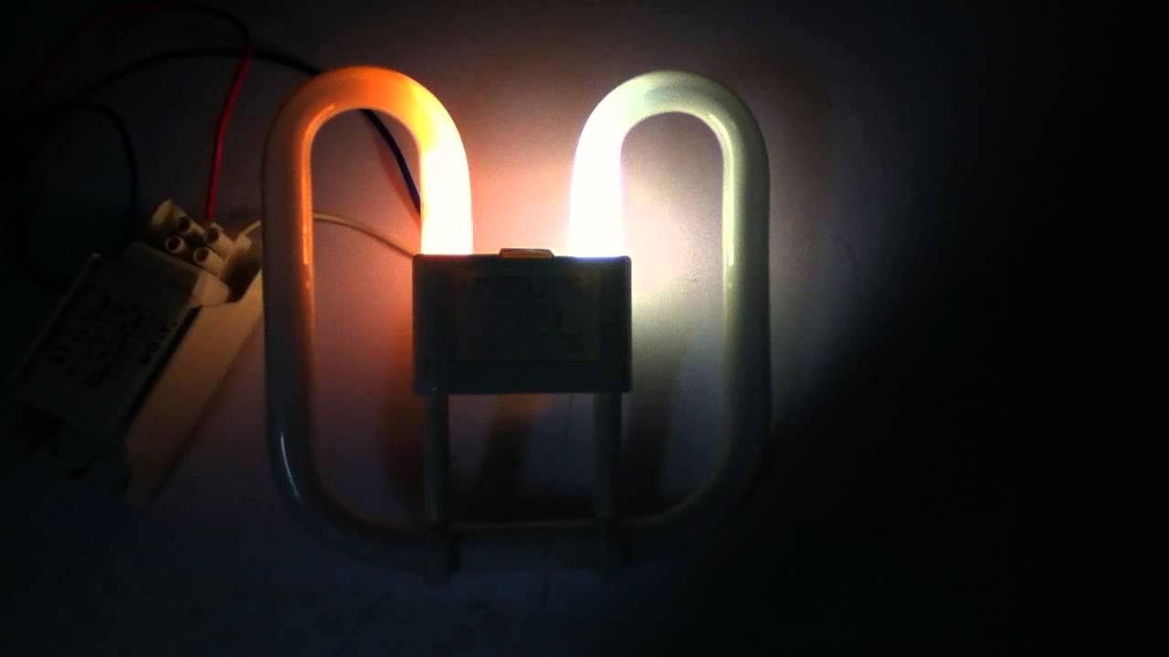 Bathroom Lights Flicker 16w 2d lamp flickering - youtube