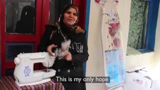 Wahda  - a Syrian entrepreneur in Turkey