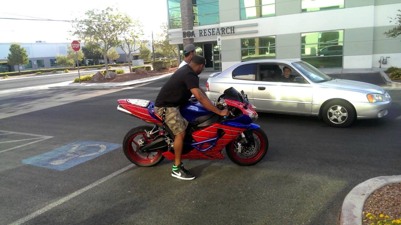 Spiderman motorcycle crash youtube - Spider man moto ...