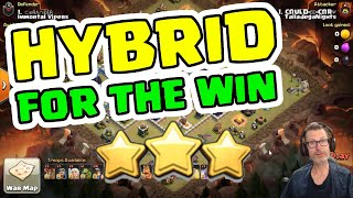 TRY THIS TH13 Hybrid Troop Combo - Clash of Clans