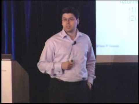 2007 CARE Conference:  Florin Vasvari