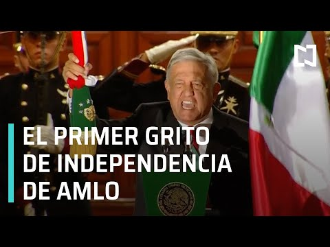 Así fue el primer Grito de Independencia de AMLO - Despierta