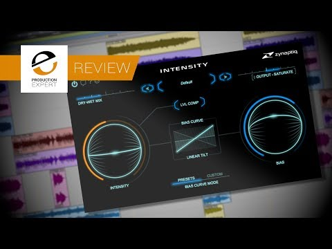 New Zynaptiq INTENSITY Mixing & Mastering Plug-in - Expert Review